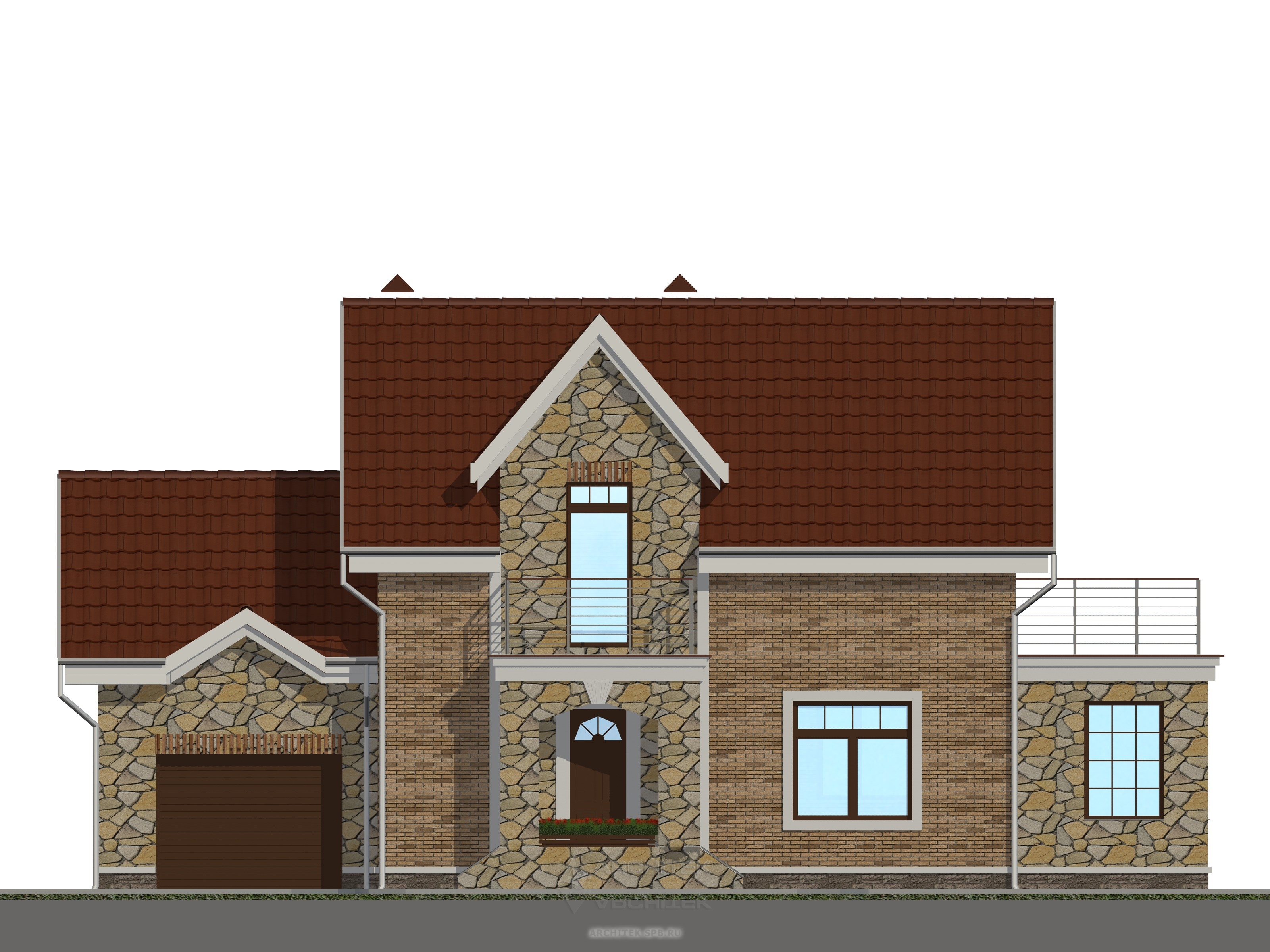 Нарисовать Фасад Дома Программа