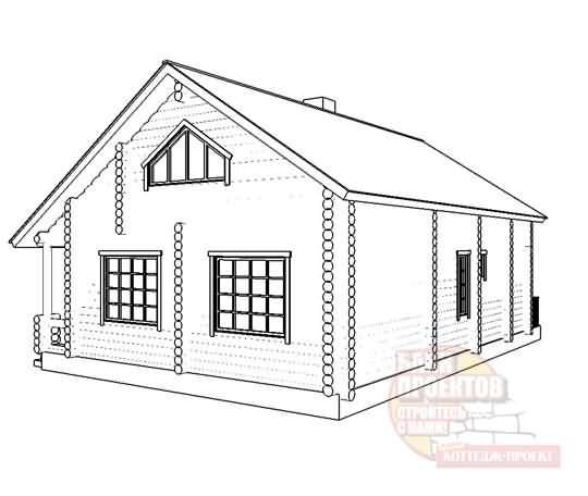 Готовые и типовые проекты одноэтажных домов и коттеджей с гаражом и мансардой из разных