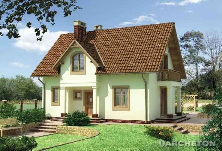 Проекты небольших загородных домов фото