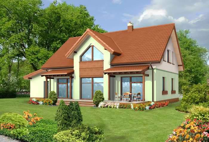 проекты семейных домов