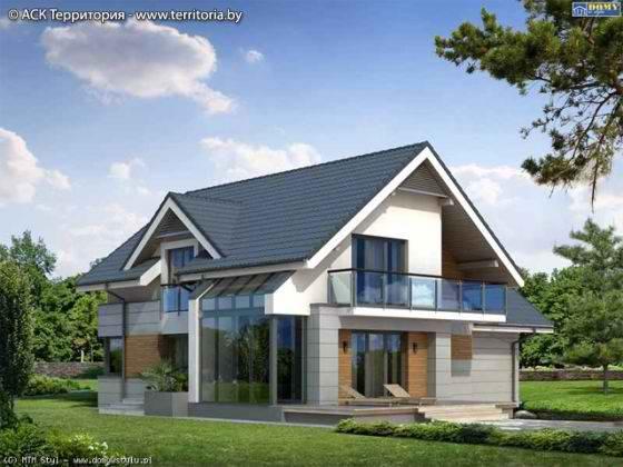 Украшение фасадов домов фото