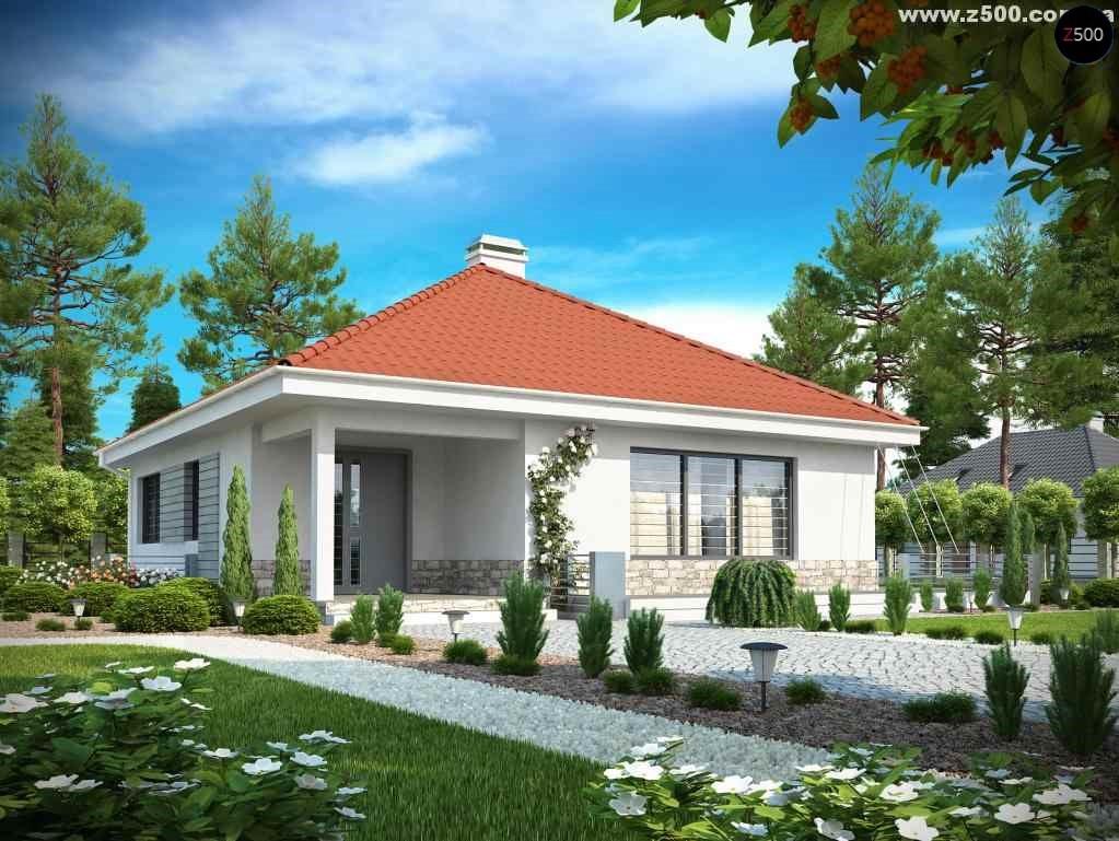 проекты домов из кирпича бесплатно