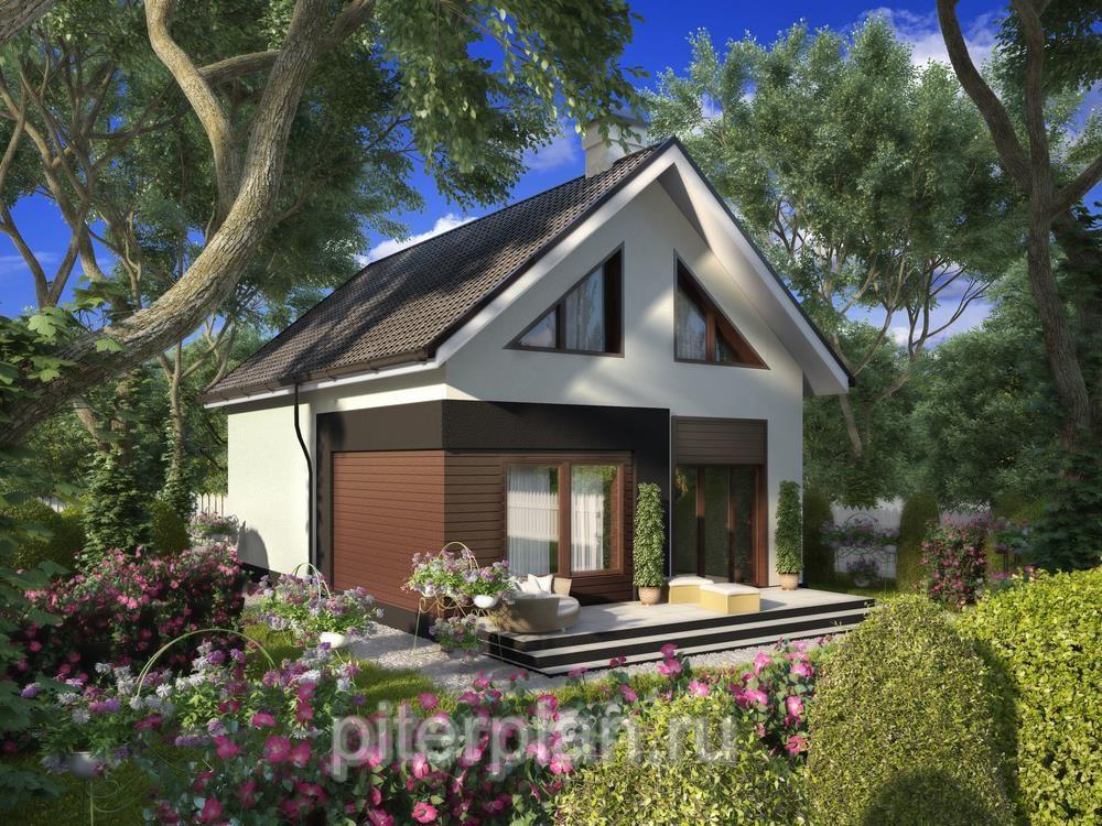 Проекты одноэтажных домов Проект одноэтажного дома с